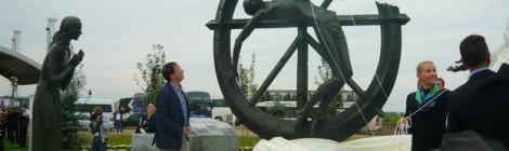 Юбилей Первой мировой войны – открытие памятников в Гусеве
