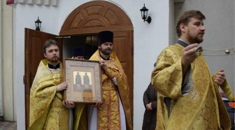 День памяти святых Космы и Дамиана отметили в посёлке Космодемьянского в Калининграде