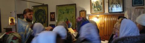 Престольный праздник отметили в храме иконы Божией Матери «Скоропослушница» в пос. Славинск