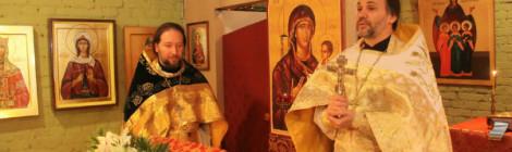 На калининградском приходе святой равноапостольной Нины отметили престольный праздник