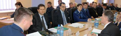 Подведение итогов деятельности УФСИН за 2014 год