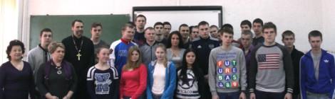 Состоялась встреча протоиерея Александра Соколова с молодыми спортсменами