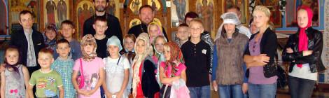 Ученики воскресной и общеобразовательной школ города Ладушкина посетили Гусев