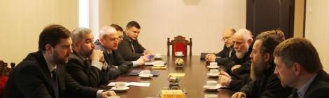 Епископ Серафим встретился с руководителем ФАДН Игорем Бариновым