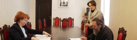Подписание соглашения о взаимодействии с министерством здравоохранения Калининградской области