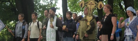 22 августа в Нестеровском районе прошел IX Крестный ход на Гумбиненское поле