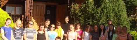"""Волонтеры """"Здорового поколения"""" встретились со священником"""