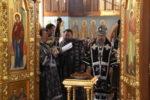 В пятницу первой седмицы Великого поста архиепископ Серафим совершил Литургию Преждеосвященных Даров в храме св. кн. Александра Невского