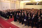 Клирик епархии принял участие в торжественном собрании, посвященном Дню защитника Отечества