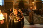 В понедельник первой седмицы Великого поста архиепископ Серафим совершил повечерие с чтением Великого канона Андрея Критского в Кафедральном соборе Христа Спасителя