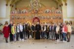 Группа польских школьников посетила храм Преображения Господня г. Зеленоградска