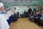 Священник и воспитанники Покровского прихода посетили психо-неврологический интернат в Долгоруково