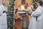 Архиепископ Серафим совершил великую вечерню в храме в честь Богоявления