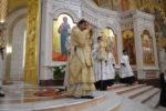 Архиепископ Серафим в праздник Крещения Господня совершил Божественную Литургию и Великое освящение воды в Кафедральном соборе Христа Спасителя