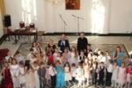 В Большом зале Управления Калининградской епархии прошло детское отделение VIII молодежного Сретенского бала