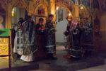 Архиепископ Серафим совершил Литургию Преждеосвященных Даров в храме св. вмц. Екатерины
