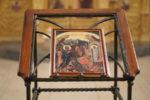 В Лазареву субботу архиепископ Серафим совершил Божественную Литургию в храме св. вмц. Екатерины