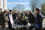 Священник совершил молебен для байкеров перед открытием мотосезона