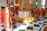 В день памяти свв. равноап. Кирилла и Мефодия в соборе Христа Спасителя совершена Божественная Литургия