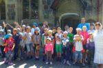 Завершилась вторая неделя в православном летнем лагере с научно-экспериментальной лабораторией при Свято-Андреевском храме