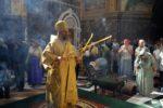 Архиепископ Серафим в Неделю 9-ю по Пятидесятнице совершил Божественную Литургию