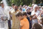 Престольный праздник храма Преображения Господня