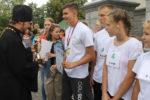 Школьники приняли участие во II Александро-Невской эстафете