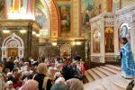 В Калининграде состоялась первая в учебном году Литургия Православной гимназии