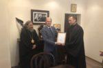 Вручение награды Полномочного представителя Президента Российской Федерации в Северо-западном Федеральном округе