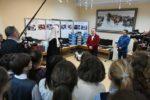 Святейший Патриарх Кирилл принял участие в церемонии передачи учебного оборудования для нужд православной гимназии Калининграда
