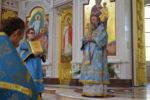 Архиепископ Серафим совершил Литургию в Праздник Благовещения