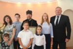 Семье клирика епархии ко Дню семьи, любви и верности вручили награду