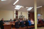 Встреча с молодежью в храме Покрова Богородицы