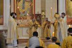 В Неделю о блудном сыне архиепископ Серафим совершил Литургию в Кафедральном соборе Христа Спасителя