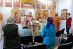 Праздник Светлого Христова Воскресения в храме в Доме ветеранов