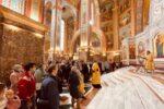 Архиепископ Серафим совершил Литургию в Кафедральном соборе Христа Спасителя